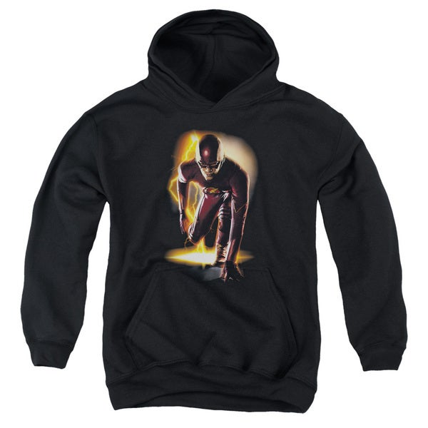The Flash/Ready Youth Black Pullover Hoodie
