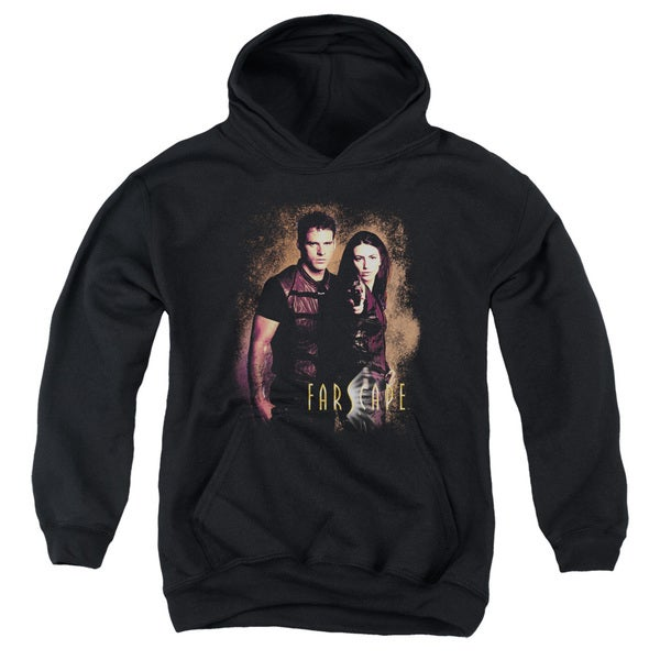 Farscape/Wanted Youth Pullover Hoodie in Black
