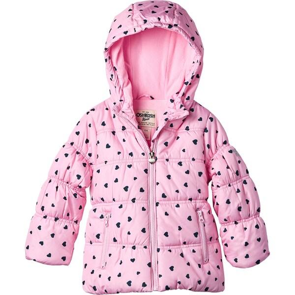 OSHKOSH Toddler Girls' Heavy Weight Jacket 18663336