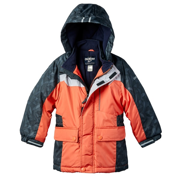 OSHKOSH Boys' Orange Jacket