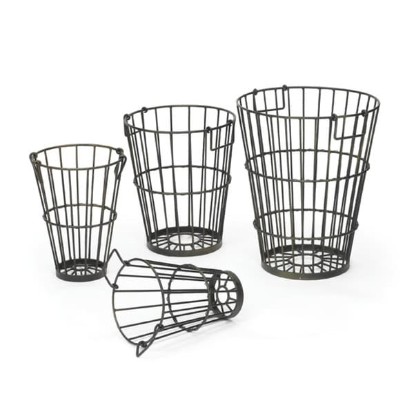 Set of Four Tomato Baskets