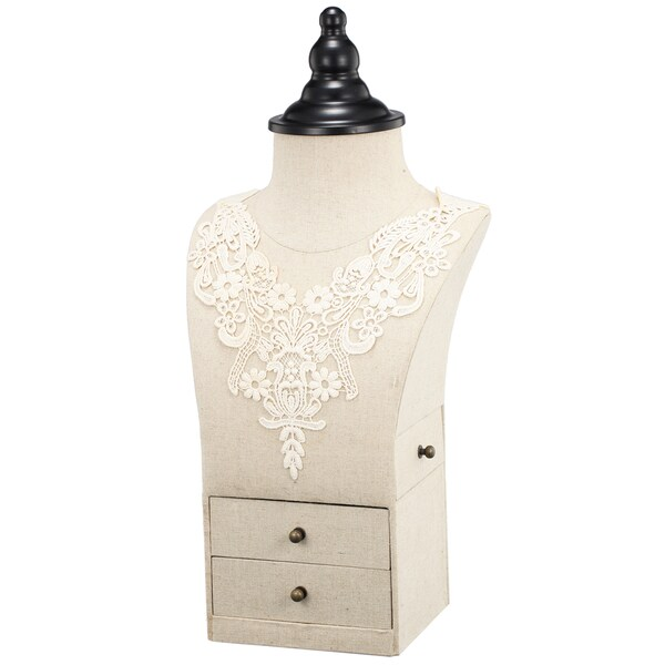 9-inch x 6-inch x 19-inch Jewelry Display Stand