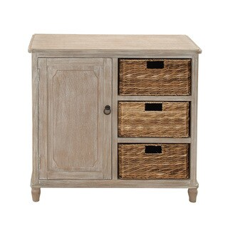 Stylish And Trendy Multipurpose Wood Basket Dresser