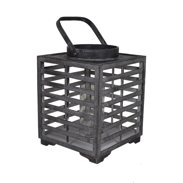 Timeless And Pleasant Wood Lantern By Entrada 18665239