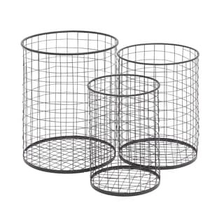 The Handy (Set Of 3) Metal Container Basket