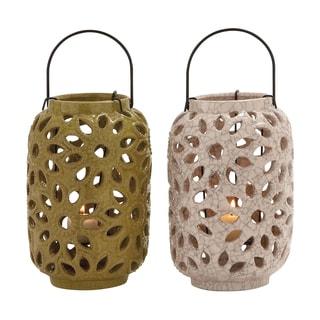 The Stunning Ceramic Lantern 2 Assorted