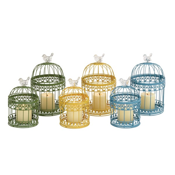 The Cool (Set Of 2) Metal Lantern 3 Assorted