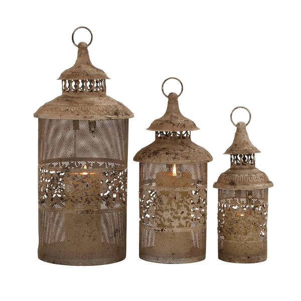 Antique Styled Classy Metal Candle Lantern 18665501