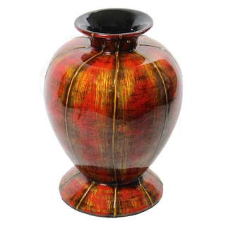 Charming Lacquer Bamboo Vase