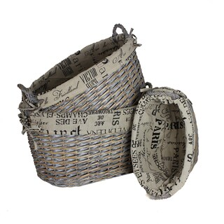 Purposeful 3-Piece Basket Set By Entrada