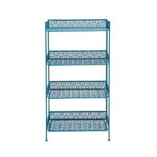 The Amazing Metal Baker Rack Blue