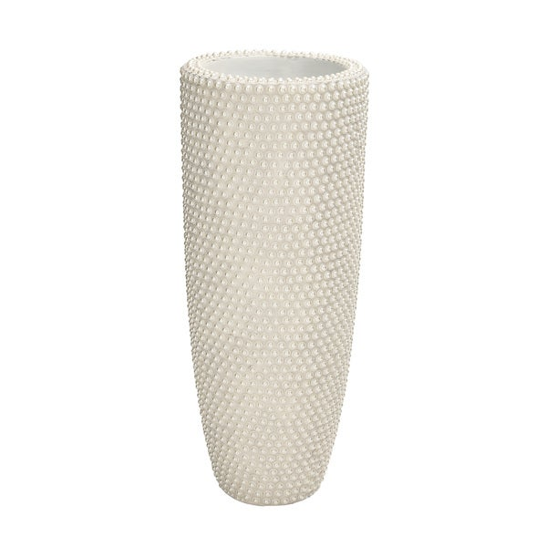 Beauty And Utility Polystone Pearl Vase