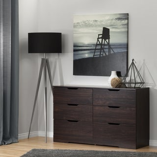 South Shore Holland Havana 6-Drawer Double Dresser