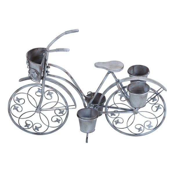 Classic Style Bicycle Planter for Your Potted Plants