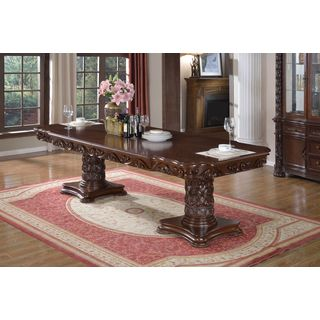 Meridian Barcelona Double Pedestal Dining Table