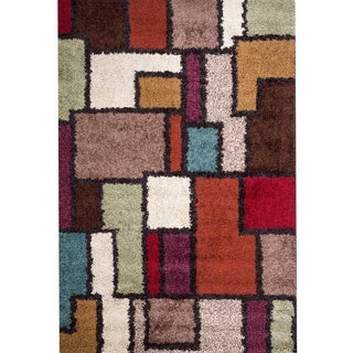 Christopher Knight Home Rose Ariel Multi Frieze Rug (5' x 8')