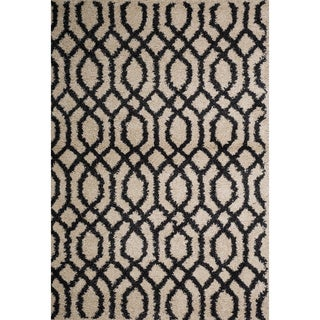 Christopher Knight Home Rose Laura Geometric Frieze Rug (5' x 8')