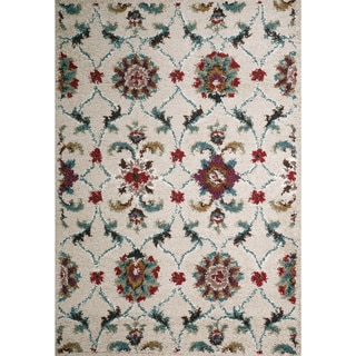 Christopher Knight Home Rose Aston Floral Frieze Rug (8' x 10')