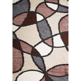 Christopher Knight Home Rose Deanna Abstract Frieze Rug (5' x 8')