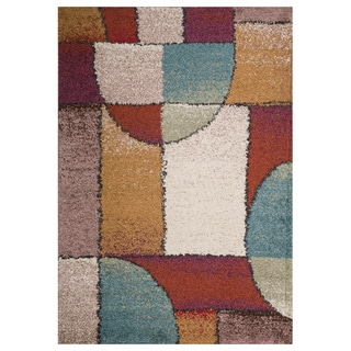 Christopher Knight Home Rose Margarete Abstract Frieze Rug (5' x 8')