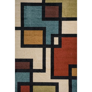 Christopher Knight Home Rosemary Badden Indoor/Outdoor Frieze Rug (8' x 10')