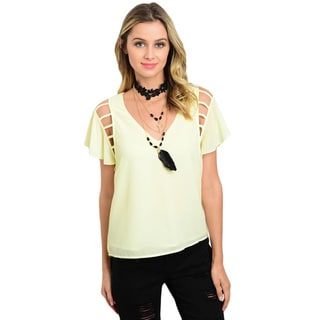 Shop the Trends Women's Polyester Machine-washable Top