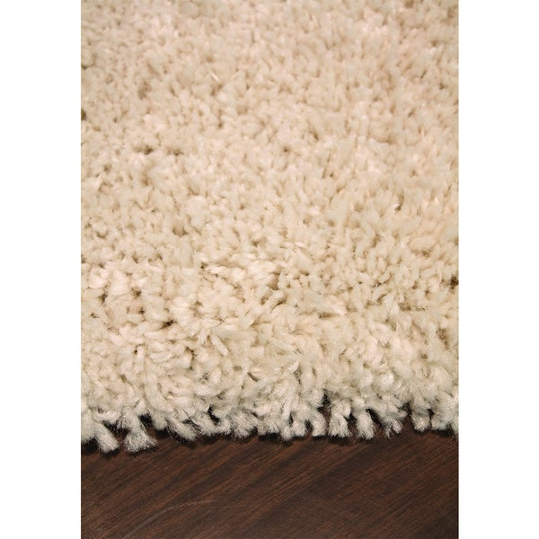 Marko Solid Cream Soft Touch Rug (5'3 x 7'7)