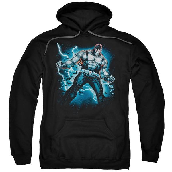Batman/Stormy Bane Adult Pull-Over Hoodie in Black