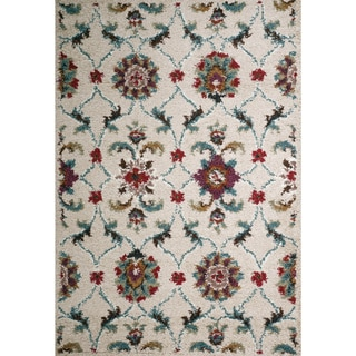 Christopher Knight Home Rose Aston Floral Frieze Rug (5' x 8')