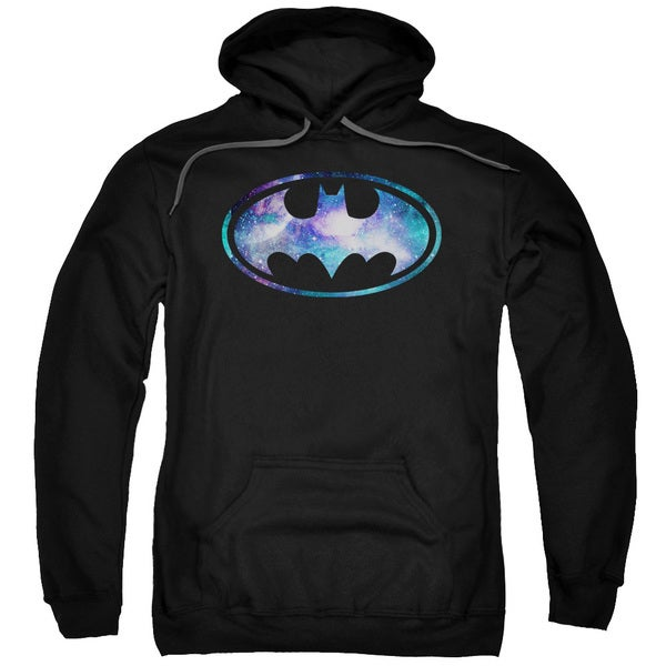 Batman/Galaxy 2 Signal Adult Pull-Over Hoodie in Black