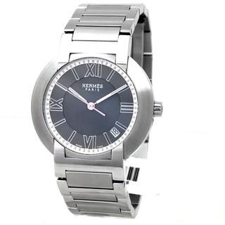 Hermes Paris Men's Stainless Steel Pre-owned Watch