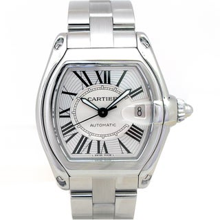 Cartier Preowned Stainless Steel Roadster Watch