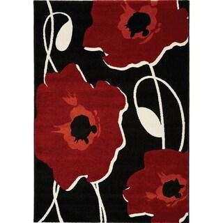 Stella Sylized Poppy Rug (2'0 x 3'7)