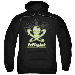 Batman Beyond/Blight Adult Pull-Over Hoodie in Black