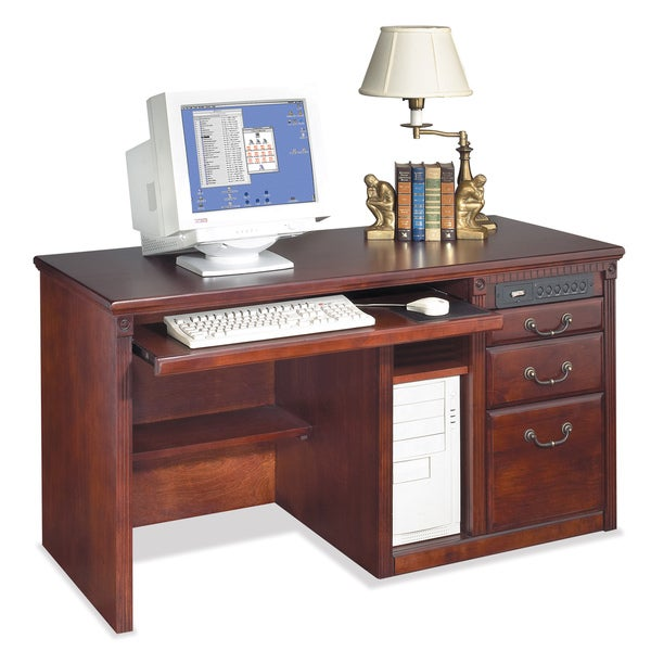 Havington Court Single Pedestal Computer Desk