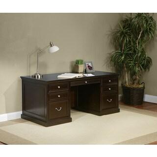 Forestville 68-inch Double Pedestal Executive Desk