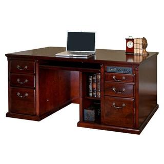 Havington Court Double-pedestal Computer Desk