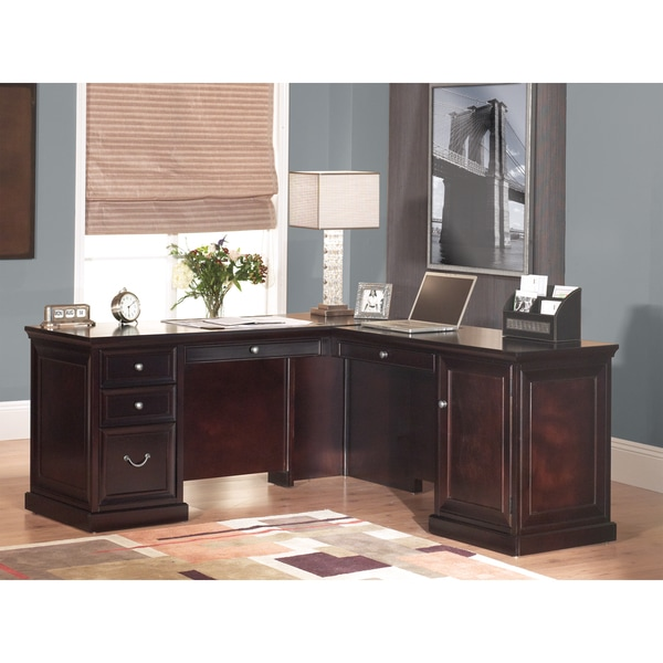 Forestville L-Shaped Desk