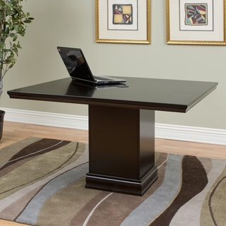 Forestville Brown Wood 47.25-inch Square Conference Table