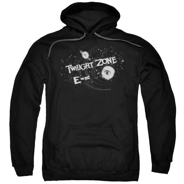 Twilight Zone/Another Dimension Adult Pull-Over Hoodie in Black
