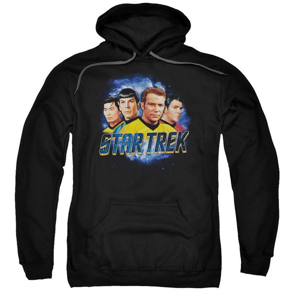 Star Trek/The Boys Adult Pull-Over Hoodie in Black