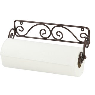 Bronze Wall-mounted Paper Towel Holder