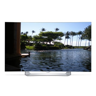 LG Reconditioned 55EG9100 55-inch 3D 1080p OLED Curved Smart Pencil Thin HDTV With Wi-Fi and 2 Pairs of 3D Glasses