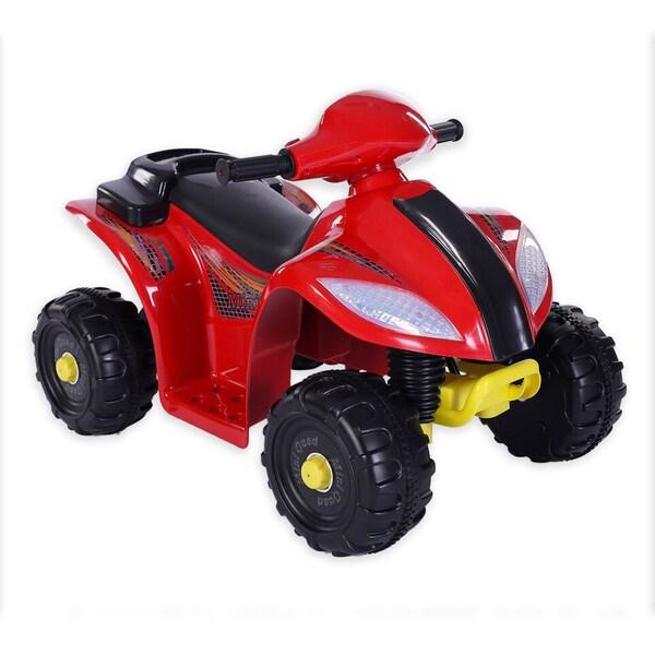 Fun Wheels Red Mini Quad