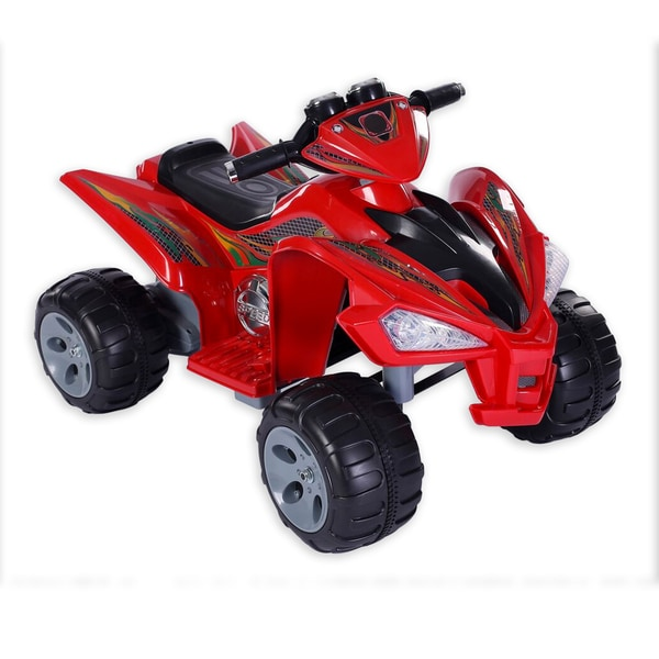 Fun Wheels Red Super Quad