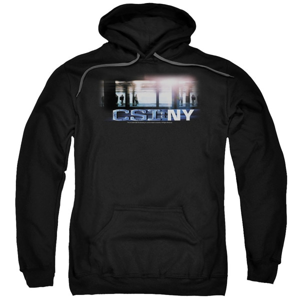 CSI/New York Subway Adult Pull-Over Hoodie in Black