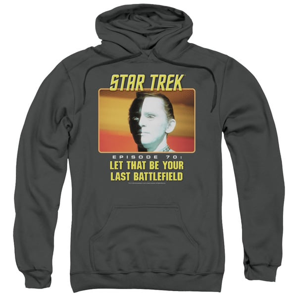 St Original/Last Battlefield Adult Pull-Over Hoodie in Charcoal