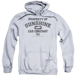 Taxi/Property Of Sunshine Cab Adult Pull-Over Hoodie in Athletic Heather
