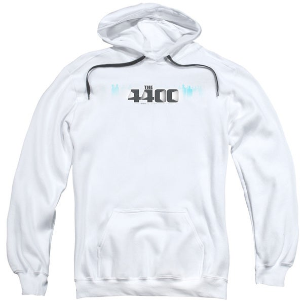 4400/The 4400 Logo Adult Pull-Over Hoodie in White