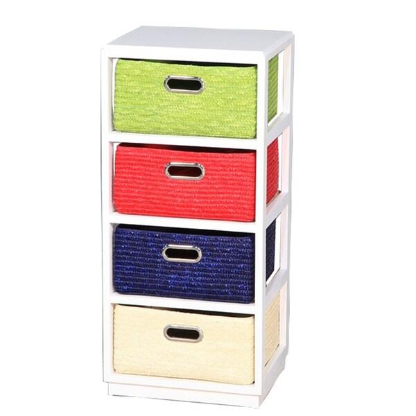 Entrada Vivacious Wood 4-drawer Cabinet